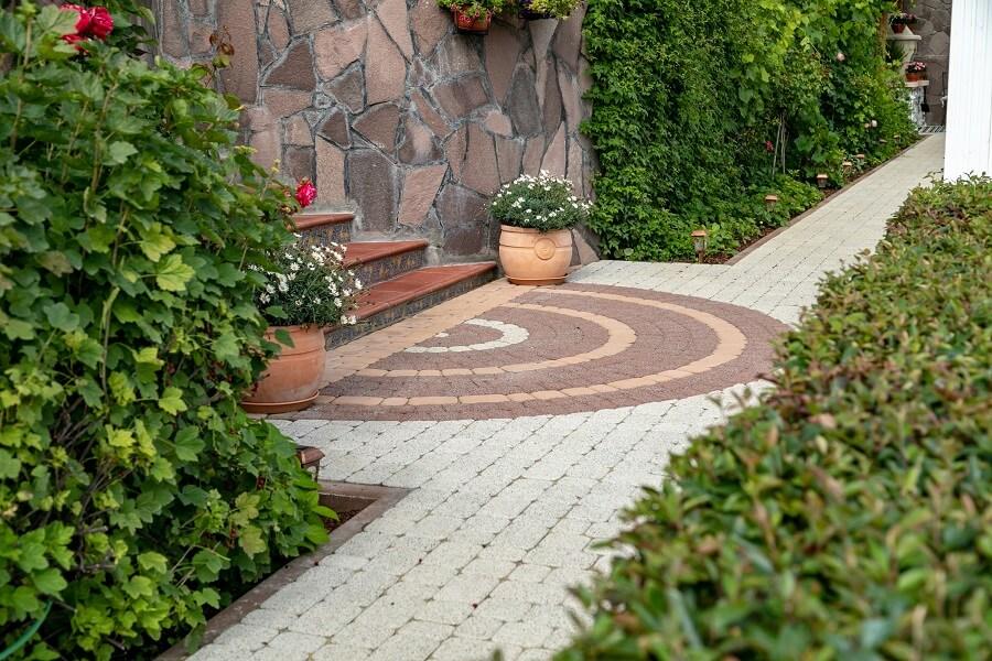Тротуарная плитка Steingot - примеры работ
